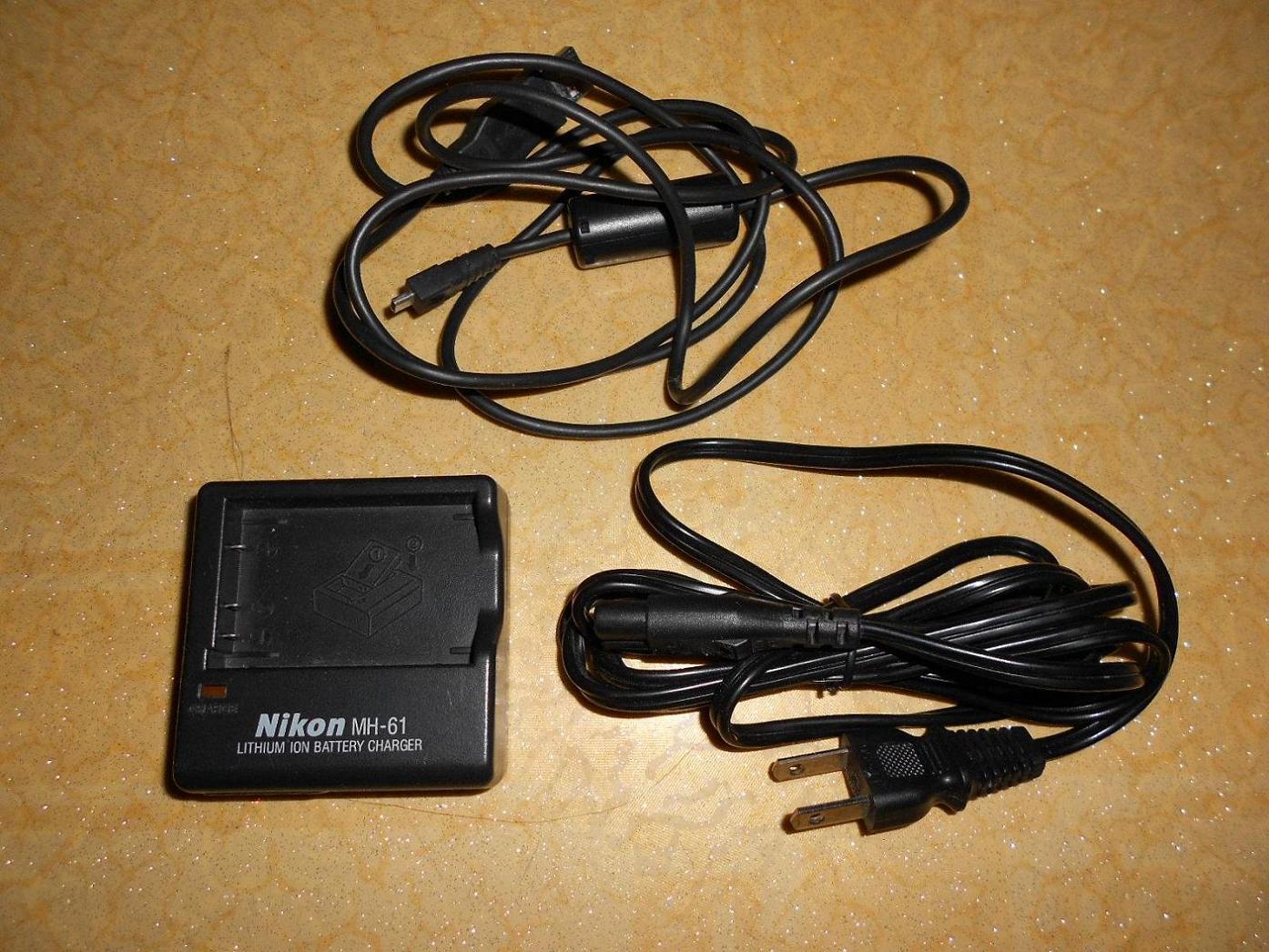 尼康相机 座充电器 数据线
